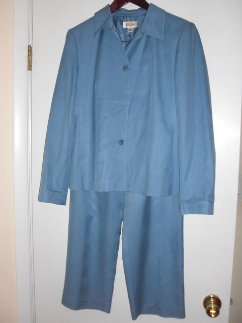 Talbots Talbots Silk Suit Jacket 8 Pants 10 Petite