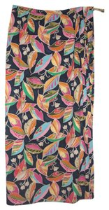 Talbots Floral Maxi Skirt multicolor purple