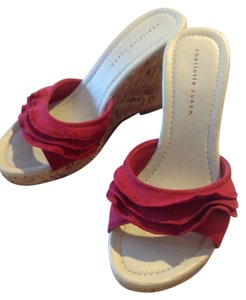 Charlotte Russe Red Wedges