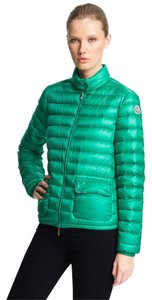 Moncler Packable Down Green Jacket