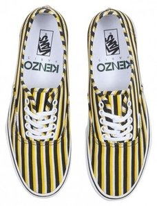 Kenzo Vans Stripes Spring Summer 2013 Yellow, Black, White Athletic