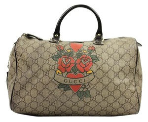 Gucci Supreme Canvas Speedy Satchel in Monogram