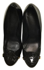 Tory Burch Black patent leather Pumps