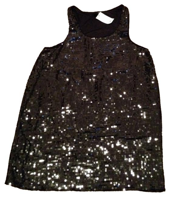 Preload https://item4.tradesy.com/images/h-and-m-black-sequin-tunic-knee-length-night-out-dress-size-10-m-1641438-0-0.jpg?width=400&height=650