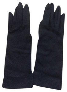 Knitworks Ladies Evening Black Lambswool Gloves