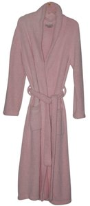 Kim Rogers Kim Rogers Intimates Long Microfleece Pink Robe Size Medium