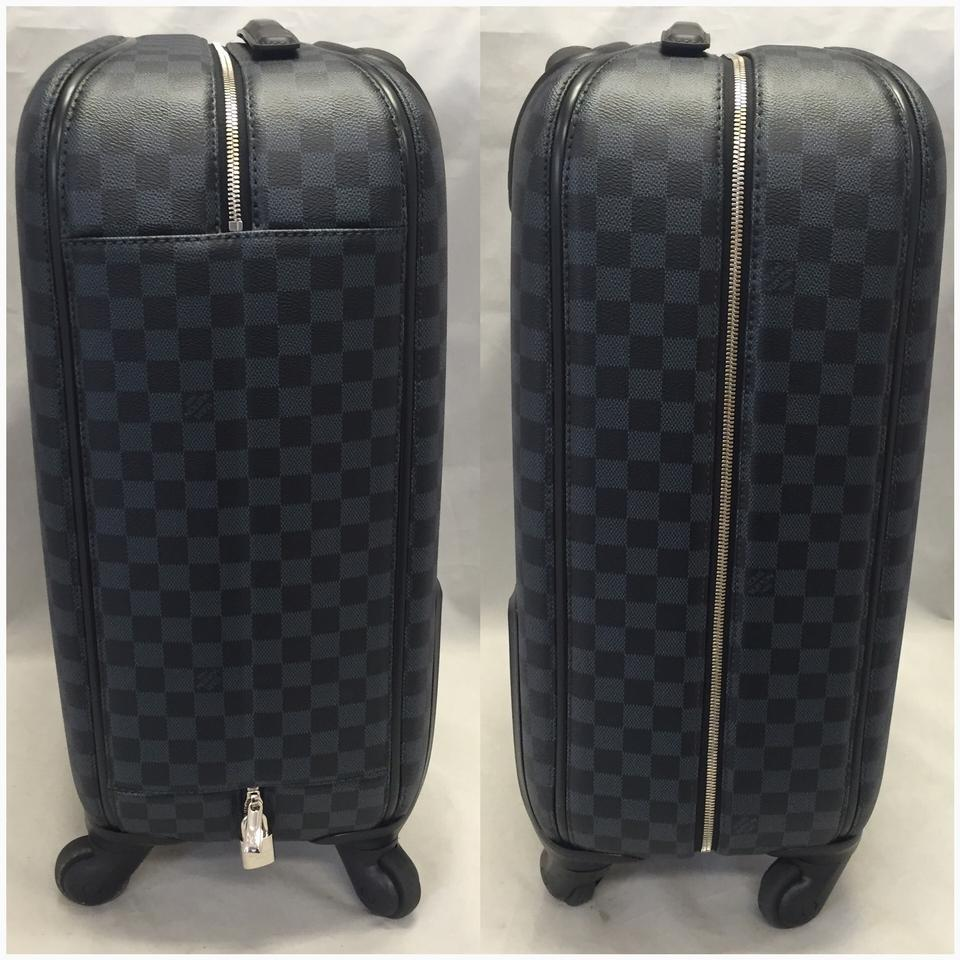 f1b4cb19e6c4 Louis Vuitton Zephyr 55 Damier Cobalt. Carry Fantastic Black Canvas  Weekend Travel Bag - Tradesy