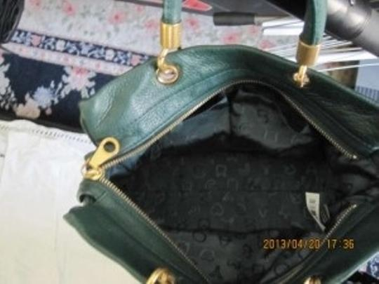 Marc by Marc Jacobs Too Hot To Handle Leather Satchel in Jungle Green
