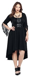 Torrid Disney Maleficent Corset Lace Dress