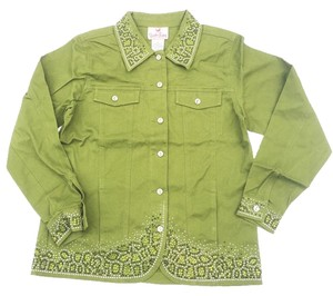 Quacker Factory Green Jacket