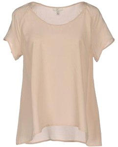 Joie Silk Top Soft Pink/Nude