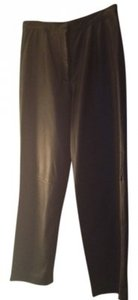 Mixit Straight Pants Black Leather