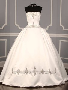 Reem Acra Romantic Pearls 4845 Wedding Dress