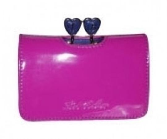 Preload https://item1.tradesy.com/images/ted-baker-patent-leather-hot-pinkpurple-valentine-hearts-wallet-16415-0-0.jpg?width=440&height=440