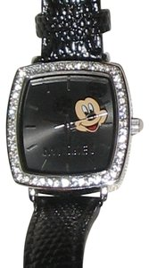 Disney Beautiful Disney Rhinestone Mickey Mouse Watch NEEDS BATTERY