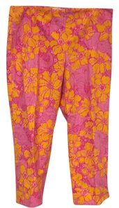Lilly Pulitzer Capris Pink, Orange