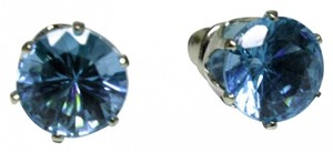 Other Blue Crystal Stud Earrings