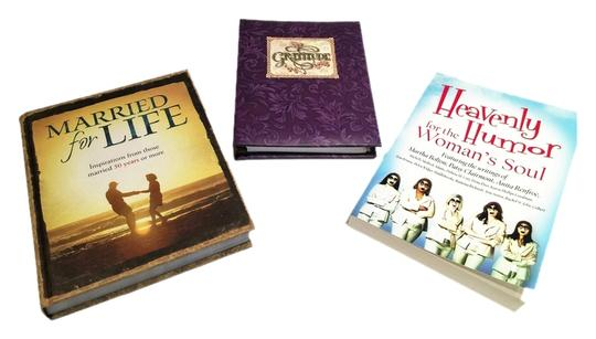 """Other Inspirational Book Trio; """"Heavenly Humor for the Woman's Soul"""", """"Gratitude"""" Journal, """"Married for Life"""" [ MissSundayBest ]"""
