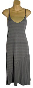 Grey Maxi Dress by Michael Stars Stripped