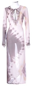 Maxi Dress by AllSaints Beaded Tie-dye Silk Maxi