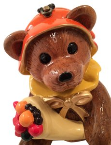 Timmy woods Acacia Wooden Whimsical Figural Bear Clutch Parladimoda Talkingfashion Bear Harvest Cross Body Bag
