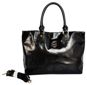 Tory Burch Leather Dena Crossbody - Dust Included Msrp Tote in Black