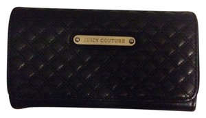 Juicy Couture Juicy Couture Black Quilted Damsel Wallet