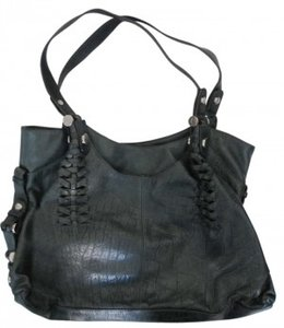 B. Makowsky Leather Shoulder Bag