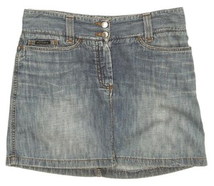 Dolce&Gabbana Mini Mini Skirt Denim