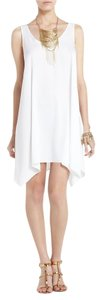 BCBGMAXAZRIA short dress White Bcbg Maxazria on Tradesy