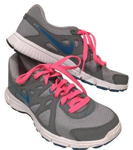 Nike Gray, Pink, Blue Athletic