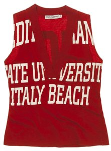 Dolce&Gabbana Top Red