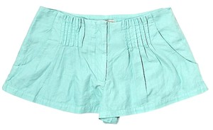 Elizabeth and James Mid Rise Mini/Short Shorts Aqua