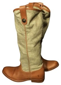 Frye 76170 Canvas Women Size 6 Size 6 Brown Boots