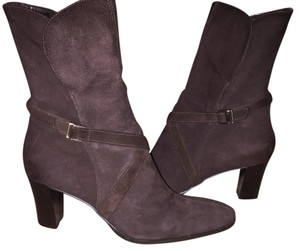 Ann Taylor LOFT Chocolate Brown Boots