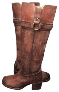 Frye Leather Riding Size 6 Women Size 8 Brown Boots