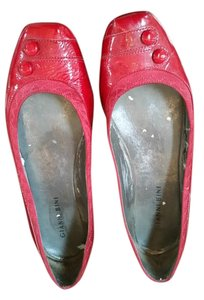 Gianni Bini Patent Leather Flat Red Flats