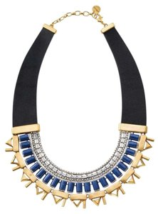 Stella & Dot Natalie Necklace: Blue Statement Necklace