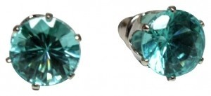 Other Turquoise Crystal Stud Earrings