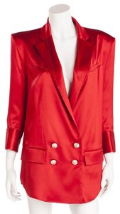 Balmain short dress Red New With Tags Blazer on Tradesy
