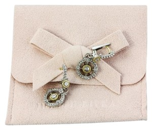 Judith Ripka * Judit Ripka Diamond Earrings.