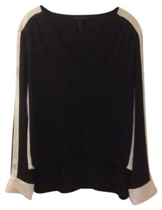 BCBGMAXAZRIA Top Black-Combo