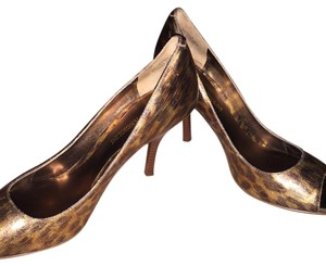 Enzo Angiolini Gold Leopard Formal