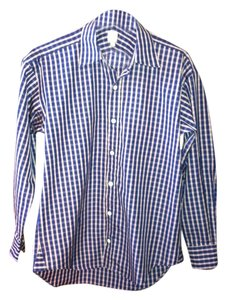 Craig Taylor Shirt Button Down Shirt Blue