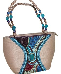Cebu Signature Collection Hand Beaded Art Shoulder Bag
