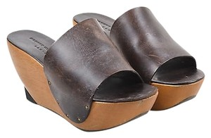 Robert Clergerie Dark Brown Sandals