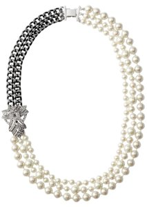 Stella & Dot Daisy Pearl Necklace