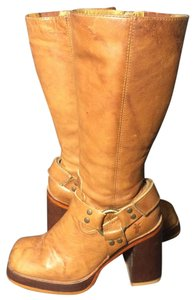 Frye 77550 Karma Harness Brown Boots