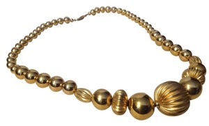 Napier Gold Necklace in Balls