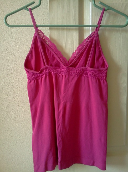 Blu Chic Lace Top Hot Pink